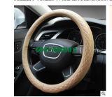 Echte Dekking Antislip 38cm van het Stuurwiel van de Auto van het Leer Universele