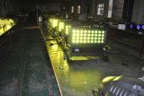 RGBW 4in1の高い発電36X8wの屋外段階ライトLED壁の洗濯機ライト都市カラーライト