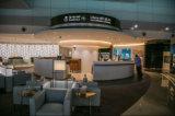PU 가죽 의자 호텔 가구 술집 소파를 가진 현대 사무실 소파