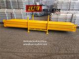 イギリスのアイルランドKwikstageの足場システムK段階システム斜めの波カッコ