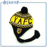Knit Earflap Hatニットの帽子パターン方法女性
