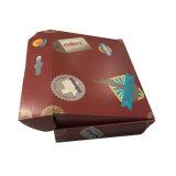 Kundenspezifischer schwarzer sendender Kasten Handelsverpacken-Produkt-e-Flöte