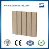 Perfil de alumínio de grãos de madeira para decoração