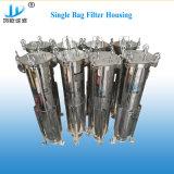 Das preiswerteste leichte einkernige Stahlfiltergehäuse der Kassetten-304stainless für Bier-Filter-Geräten-chemische Industrie