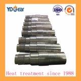 Eje estriado de acero al carbono con superficie endurecida