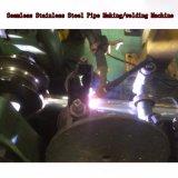 Tubo inoxidable del tubo de acero de carbón que hace la maquinaria de la soldadura