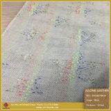 Tissu de lavage de tissu de modèle de configuration de fleur de crochet pour les chaussures ou le vêtement