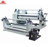Plástico máquina cortadora longitudinal de la máquina rebobinadora cortadora longitudinal// máquina rebobinadora cortadora longitudinal de la lámina de aluminio
