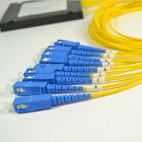 divisor ótico do PLC 1X8 ótico/divisor da fibra óptica