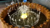 Fuente del acero inoxidable de la fuente de la música de la decoración del jardín de Fenlin pequeña