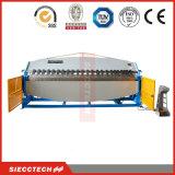 W62K-5X3200 CNC 구부리는 접히는 기계를 형성하는 유압 강철 팬 상자
