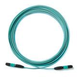 Cavo di zona monomodale della fibra di MPO Om3 Om4/multimoda ottico