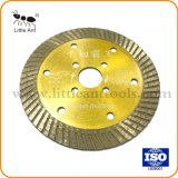 "4.5""/114mm Diamond Turbo Ferramentas de Hardware da lâmina da serra de disco de corte de pedras"