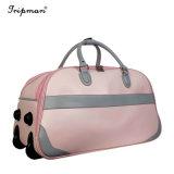 3pcs en vogue bagages Trolley Set Pink Lady sacs polochons de voyage