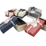La joyería de regalo papel de embalaje, el cuadro de tamaño personalizado para mostrar Joyas