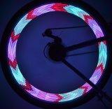 14+14 LED 30 моделей от батареи AAA Полноцветный говорил колеса фонари
