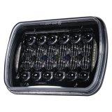 """最も新しい7X6 5X7 """" Jeep Cherokee Xj Yj Gmcのための72W LEDのヘッドライトのこんにちはLoビームハローDRL"""