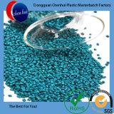 Virgin PEHD/LDPE Materbatch granules de couleur verte en plastique