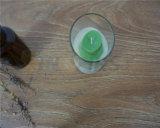 Ungiftiges natürliches Sojabohnenöl-Bohnen-Wachs geprägte Wein-Cup-duftende flammenlose dekorative Kerze