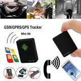 Mini seguimento Realtime global do perseguidor do carro GSM/GPRS/GPS da bicicleta do veículo do localizador A8