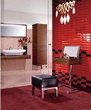 Gules 4X12 pulgadas/10x30cm cristal biselado brillante de la pared cerámica mosaico Metro baño cocina Decoración