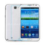 accesorios móviles Tempered de la huella digital anti de la transparencia del protector HD de la pantalla de la película de cristal 2.5D para la nota 2 de la galaxia de Samsung