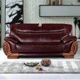 Sofá del cuero de los muebles del pasillo del hotel del precio al por mayor de la fábrica (2109)