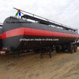 Aquecimento líquidos betume de armazenamento de asfalto do tanque do veículo de transporte semi reboque
