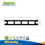 Decking plástico de madeira do composto WPC dos materiais de construção da piscina