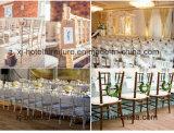 La silla de aluminio de Chiavari del banquete para el hotel utilizó
