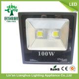luz de inundação do diodo emissor de luz da luz de inundação da ESPIGA 100W