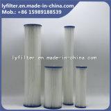 5 de micron Geplooide Filter die van het Document Patroon voor de Behandeling van het Water vouwen