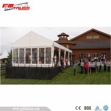 De Tent van het Huwelijk van het Frame van het aluminium met de Witte Dekking van de Stof van pvc