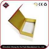 공장 판매 주문 로고 자석 뚜껑 책 작풍 서류상 접히는 상자를 가진 Foldable 선물 손가락으로 튀김 상단 상자