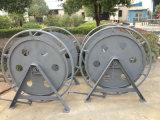 化学繊維ロープCB/T 498-95標準手動ワイヤーケーブル巻き枠のための係留巻き枠