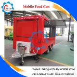 Fabrication électrique personnalisée de chariot de nourriture de la Chine