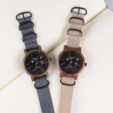 100% Material ecológica señoras/Men's Watch de madera para regalo