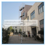 Coffre-fort SGS adopté tour en aluminium d'échafaudage pour la décoration