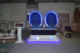 2 Bioskoop van het Ei van de Zetels van de Werkelijkheid van de Simulator van Vr van de zetel 9d de Virtuele Dubbele voor Verkoop