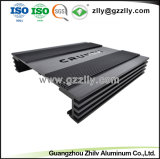 Extrusión de Aluminio de alta precisión para el disipador de calor del radiador de equipos de audio para coche