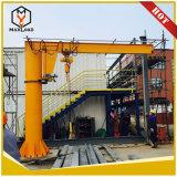 Control remoto de China Supplier 2 tonelada 10 Ton de brazo giratorio de columna de la grúa pluma