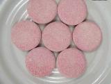 tablette masticable de pillule du supplément 1000mg de vitamine C alimentaire d'enduit