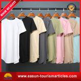 Les femmes 100% de tissu de coton ont tricoté le T-shirt fabriqué en Chine (ES3052522AMA)