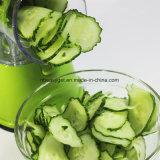 Escova de limpeza vegetal do fabricante do macarronete do Paster de Spiralizer do Veggie do Slicer de Piralizer do Slicer espiral, mini livro da receita, 7 peças sobresselentes de Esg10224 incluído
