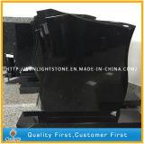 Pietra commemorativa del granito nero poco costoso dello Shanxi//Tombstone grave
