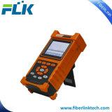 Riflettometro di settore di tempo ottico tenuto in mano OTDR per la rete di prova FTTX