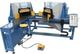 Automatische Maschine für Ausschnitt-hölzerne Ladeplatten-Ecke