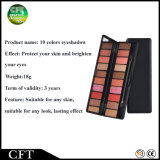 Conseguir a regalo el alto brillo del pigmento sombra de ojo duradera de 12 de los colores cosméticos del maquillaje