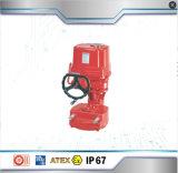 Hohe Drehkraft-elektrischer Stellzylinder