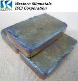99.999% bismuto de la pureza elevada 99.9999% en la corporación occidental de la MINMETALS (SC)